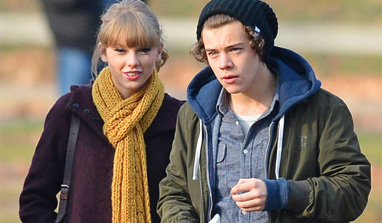 Taylor Swift jetts off to Britain, likely to meet Harry Styles