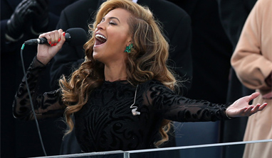 Beyonce sees nothing `wrong with using pre-recorded track`