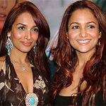 Malaika Arora Khan and Amrita Arora launch book `Bonsai Kitten` in Mumbai