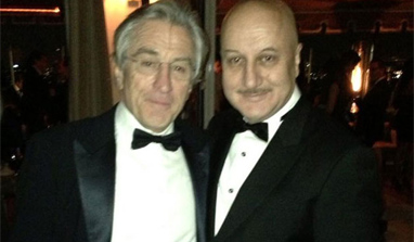 Anupam Kher attends SAG Awards with Robert De Niro