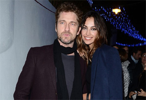 Gerard Butler `happier` with Romanian model Madalina Ghenea