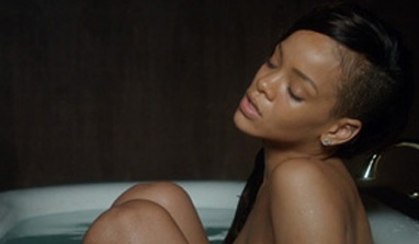 Rihanna goes nude for new video
