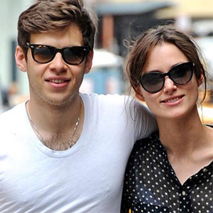 Keira Knightley superstitious about raising toast!