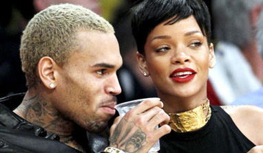 Rihanna snubs Chris Brown