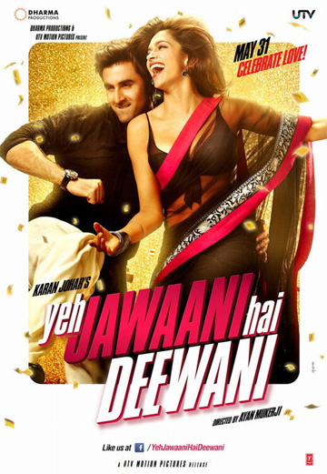 First Look: Ex-lovers Ranbir, Deepika in 'Yeh Jawaani Hai Deewani'