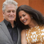 Catherine Zeta Jones and Michael Douglas `not splitting`
