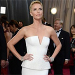 Charlize Theron helps Oscars guard after seizure?