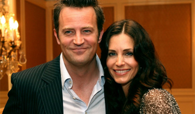 Matthew Perry, Courteney Cox reunite for TV comedy