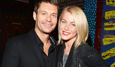 I want a small wedding with Ryan Seacrest: Julianne Hough
