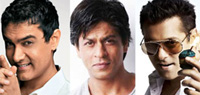 It's clash of the titans as Aamir, Salman and Shah Rukh lock horns