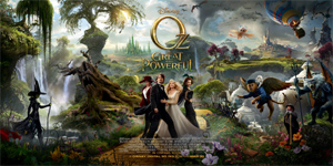 `Oz the Great and Powerful` tops box office with 80.1-million-dollar debut