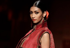 Tarun Tahiliani brings spirituality of Maha Kumbh on ramp
