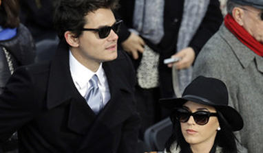 Katy Perry, John Mayer split again