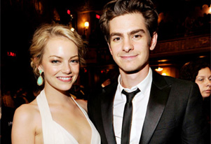 Emma Stone enjoying wild time with Andrew Garfield