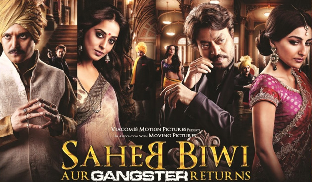 'Saheb Biwi aur Gangster Returns' review: Tigmanshu Dhulia's 'ghamasan' return!