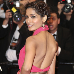 Cannes film fest red carpet most organised: Frieda Pinto