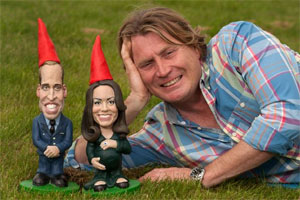 William-Kate gnome statues to raise money for kids