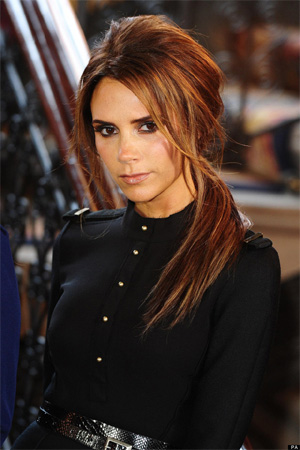 Victoria Beckham feels lucky to be fashion designer