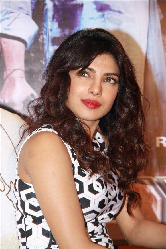 Priyanka Chopra was in the capital to promote her new release `Zanjeer ...