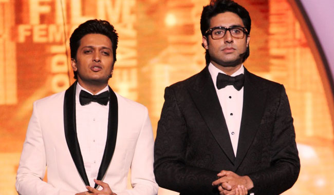 Abhishek Bachchan, Riteish Deshmukh cast a spell yet again!