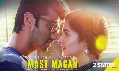 Watch: The melodious 'Mast Magan' from '2 States'