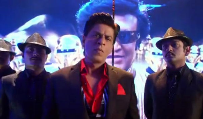 I'm a big Rajinikanth fan: Shah Rukh Khan