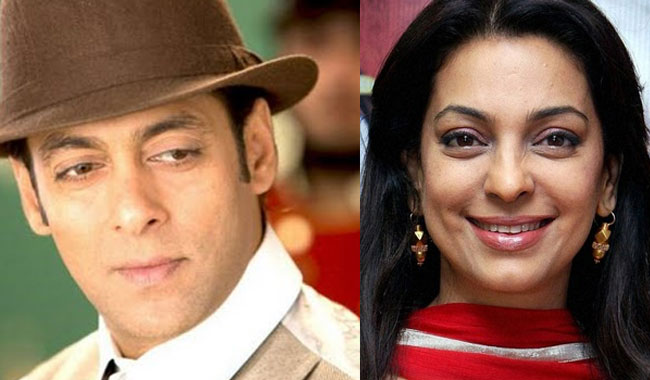 Salman Khan, Juhi Chawla to romance onscreen for the first time!