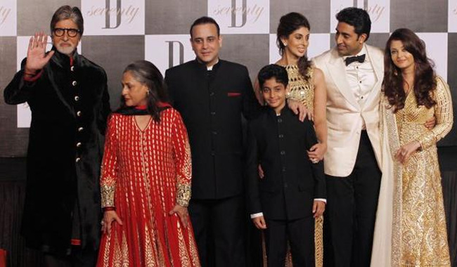 Family's presence best b'day gift for Jaya Bachchan