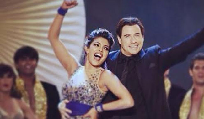 Priyanka Chopra running Saturday night fever!