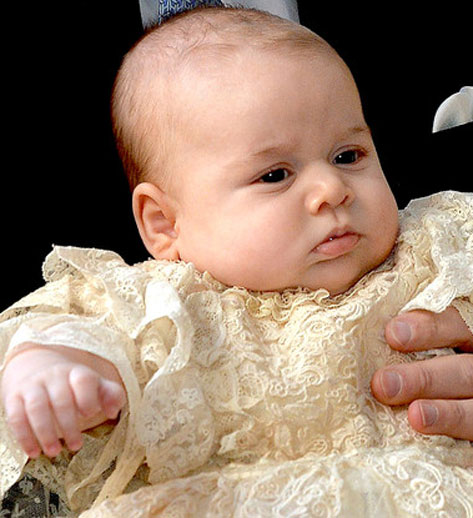 Royal Baby Prince George Turns One