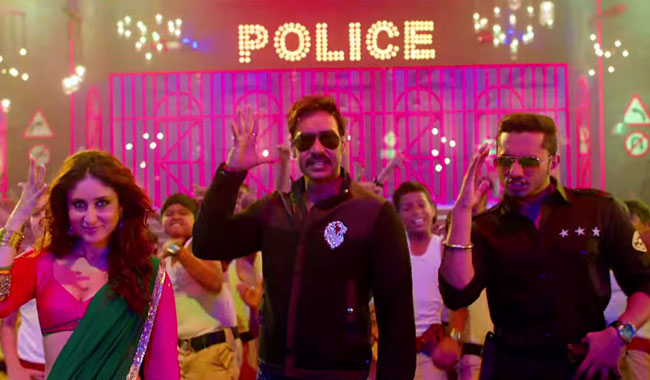Ajay Devgn's 'Singham Returns' enters Rs 100 crore club with a bang