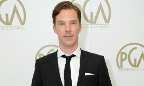 Benedict Cumberbatch strips down for Ice Bucket Challenge
