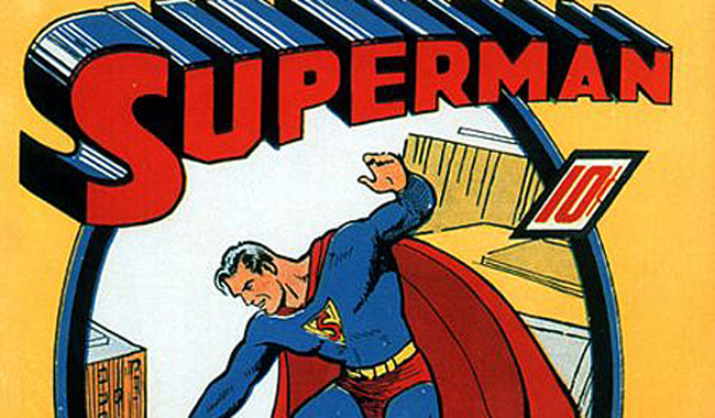 Rare copy of Superman comic book fetches USD 3.2M