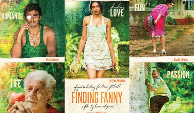Deepika Padukone treats her `Finding Fanny` team